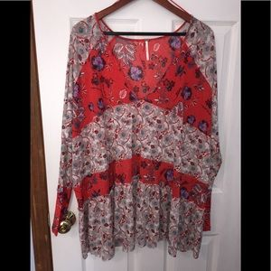 Free People Isabelle tunic NWT